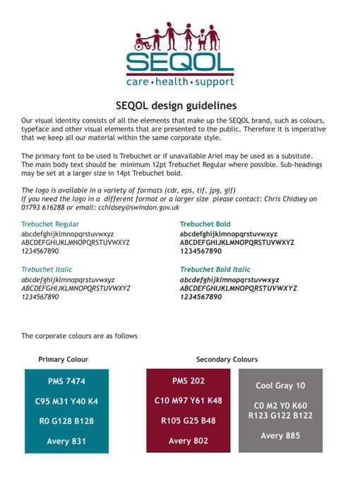 SEQOL Brand Guidelines