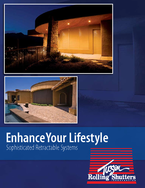Tucson Rolling Shutters Product Brochure