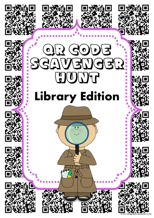 FREEQRCodeScavengerHuntLibraryEditionforBookWeek