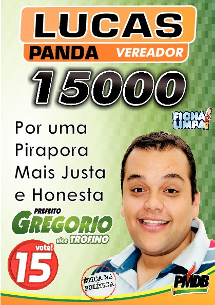 Lucas PANDA Vereador