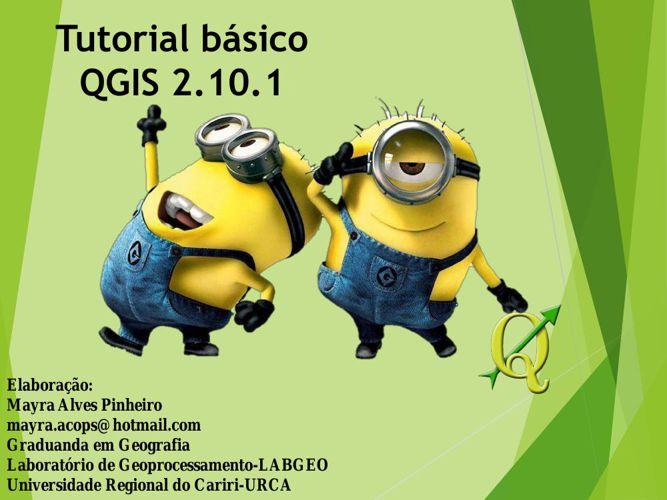 Tutorial básico QGIS 2.10.1