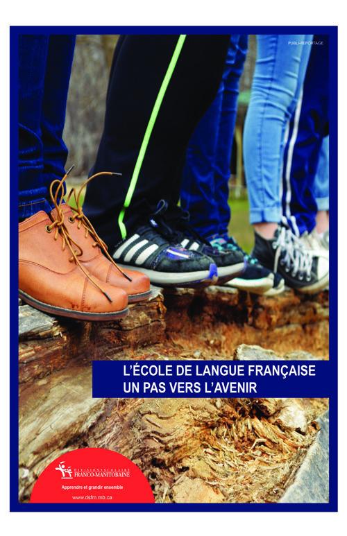 DSFM - L'école de langue française. Un pas vers l'avenir.