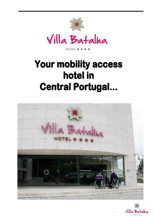 Mobility Access Hotel in Central Portugal