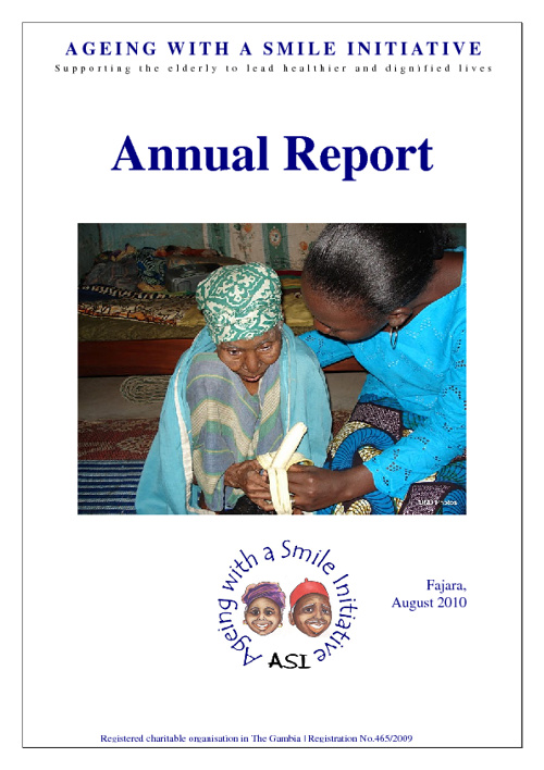 ASI Annual Report, Aug 2010