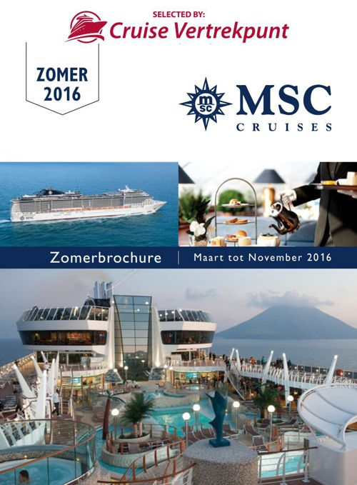 MSC CRUISES - ZOMER 2016 (II)