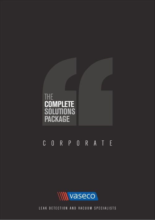 VASECO CORPORATE E-BROCHURE