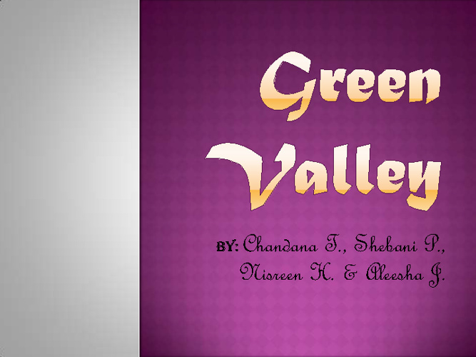 GreenValley (test)