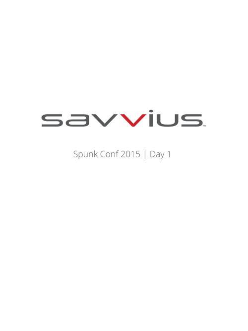 Spunk Day 1
