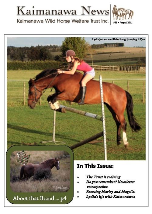 35 KWHWT Newsletter August 2011