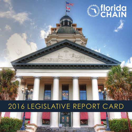 Florida CHAIN 2016 Legislative Report