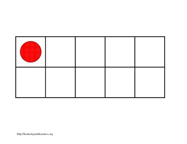 Math Tens Frames