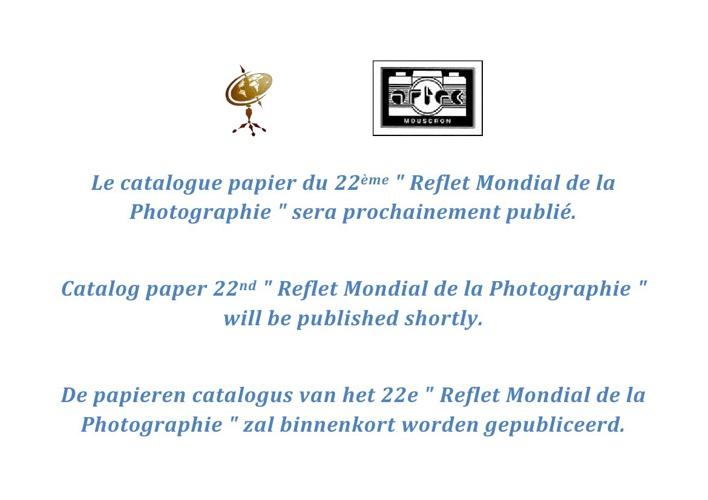 22eme Reflet Mondial de la Photographie 2013 Catalogue Papier