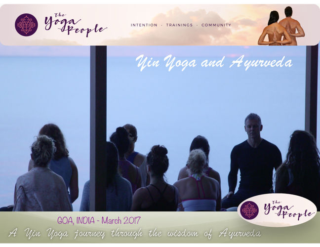 Yin Yoga & Ayurveda 100 hours Yoga Teacher Training Course