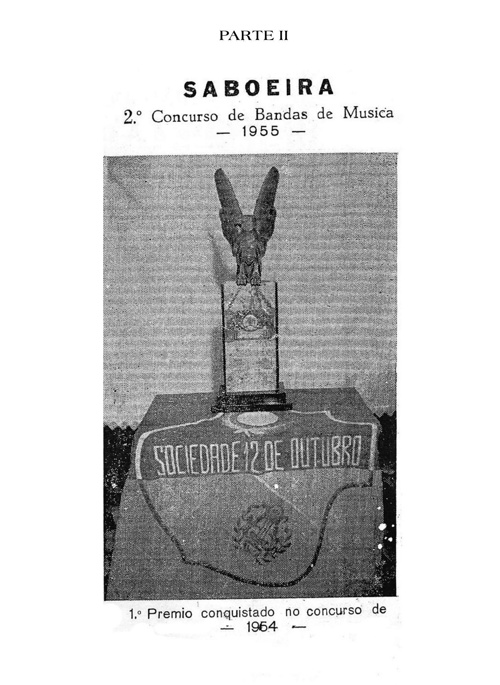 Contribuição para a História da Saboeira – Primeiro Centenário –