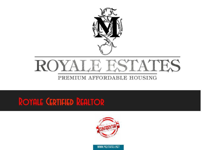M Royale Estates - Royale Certified Realtor Program