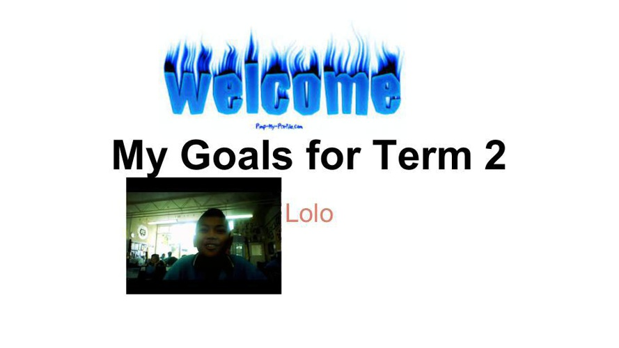 Lolo goals for term 2  (1)