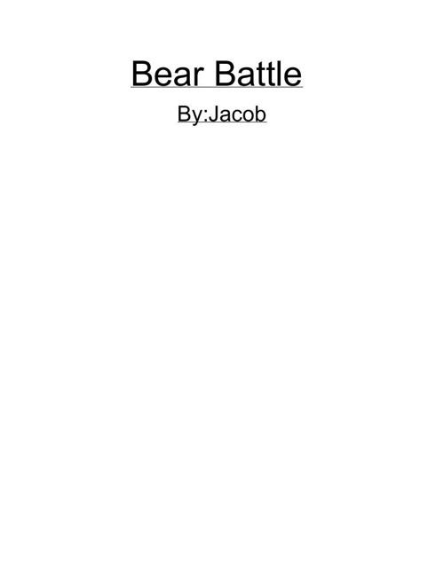 Bearbattle