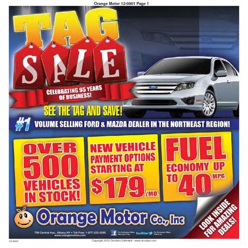 Orange Motors Specials