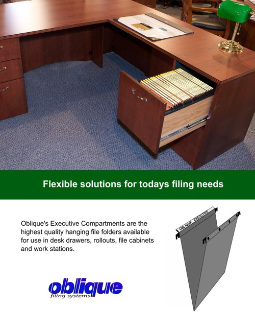 Executive Compartments - The Oblique Way