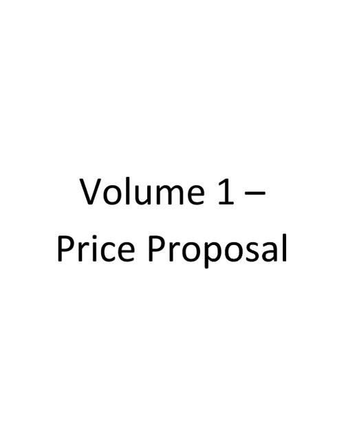 RFP Response Template V1