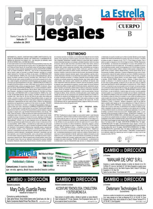 Judiciales 17 sábado - octubre 2015
