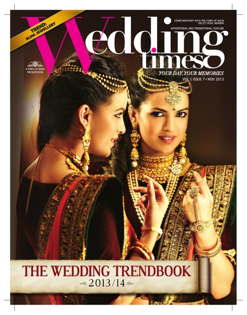 Wedding Times - November issue 2013