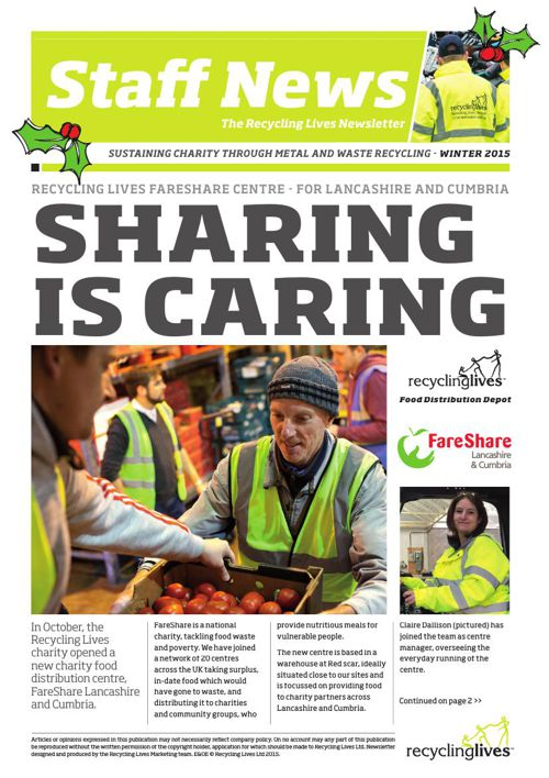 Recycling Lives News Winter 2015