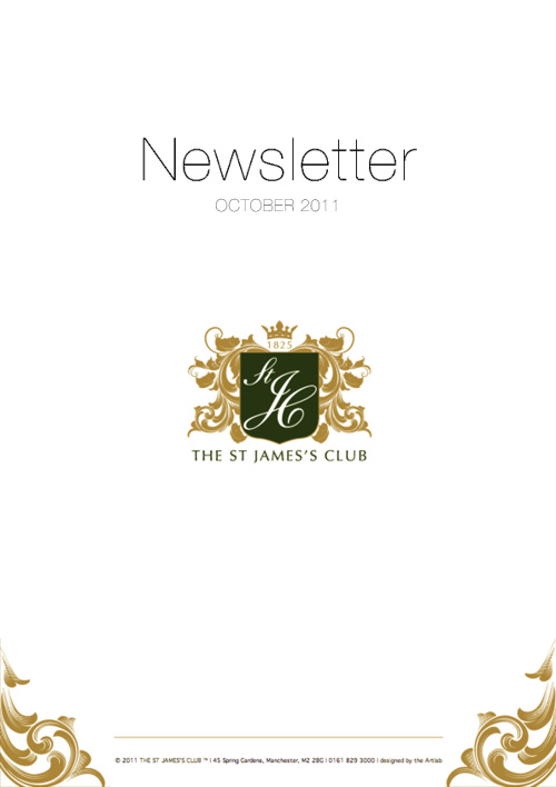 October 2011 Newsletter