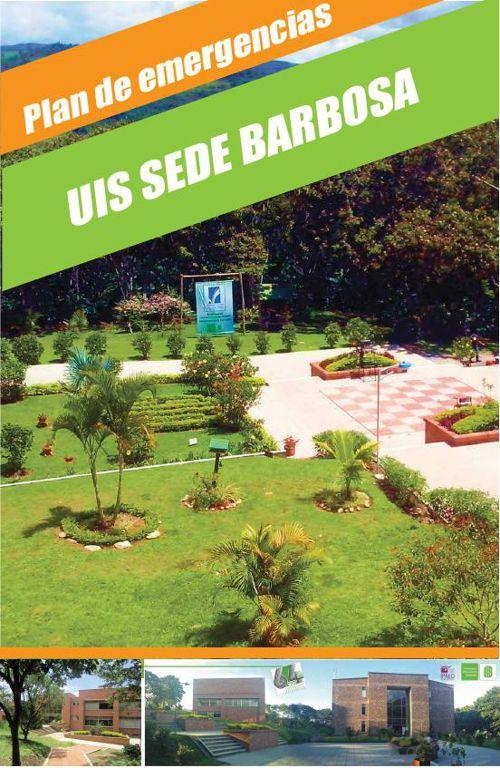 Plan de Emergencias UIS sede Barbosa