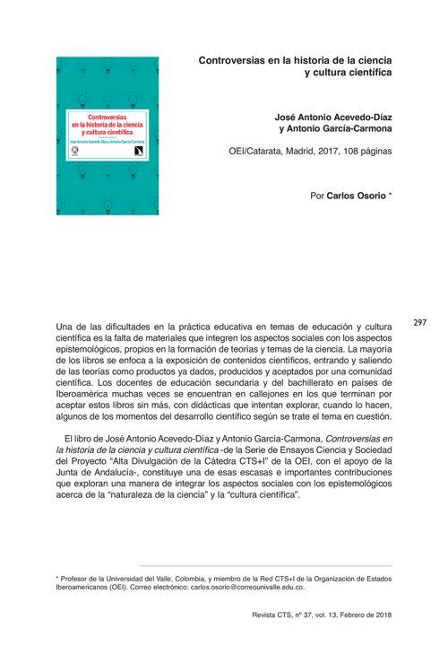 VOL13/N37 - Reseña Acevedo
