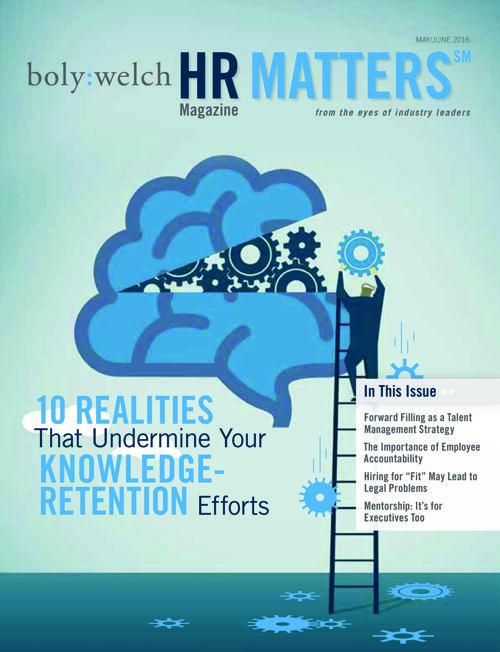 HR Matters - May/June 2016