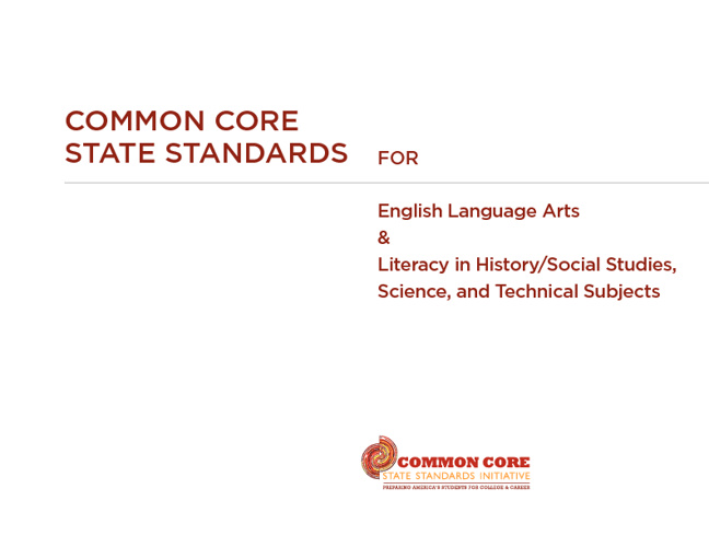 NJ Common Core Standards