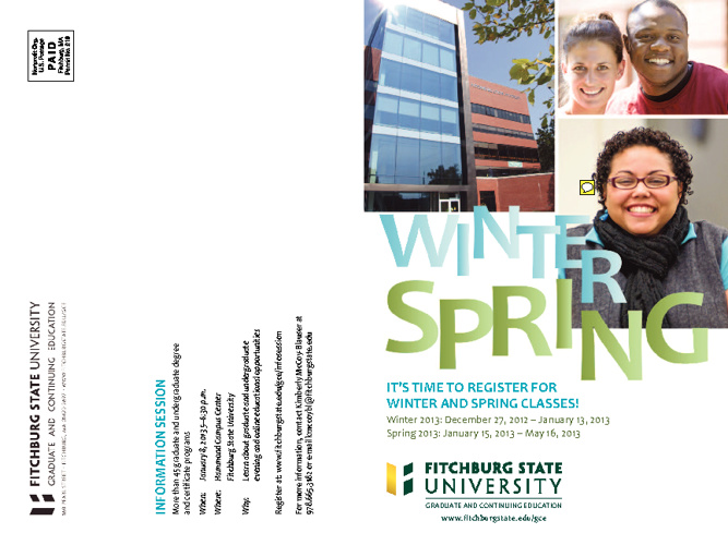 GCE Winter/Spring 2013 Course Bulletin