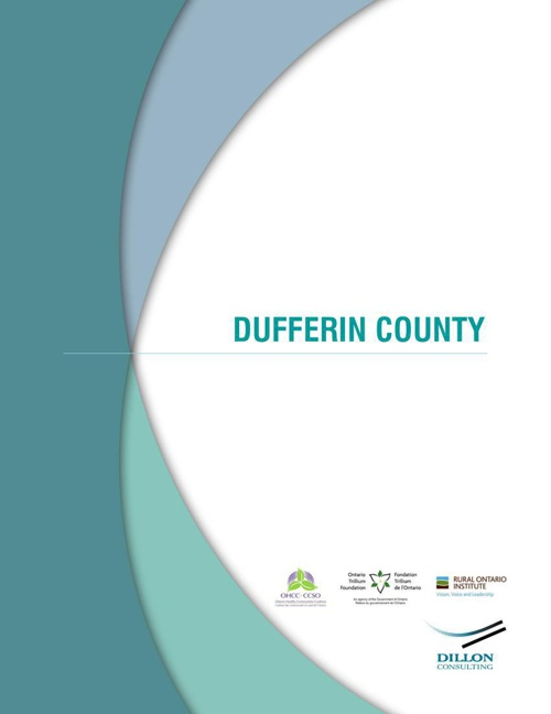 Towards Coordinated Rural Transportation — Dufferin County Study