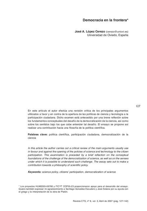 VOL03/N08 - López Cerezo