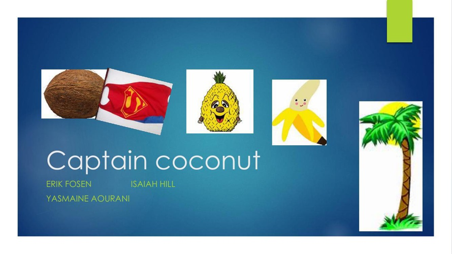 Captain coconut