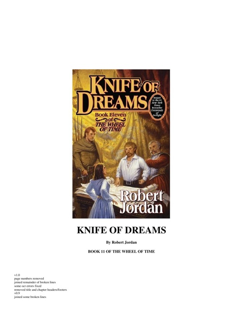 Knife of Dreams - Book 11