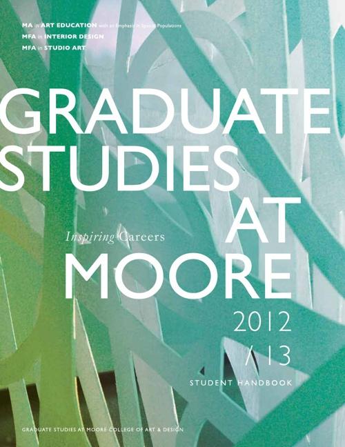 Graduate Student Handbook 2012-13