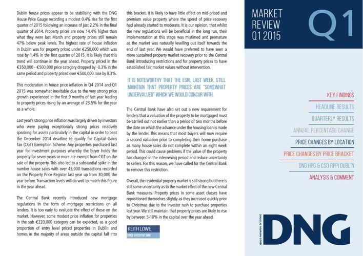 Q1 2015 DNG Report