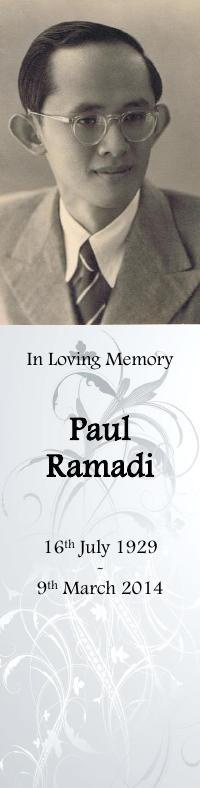Bookmark for Paul Ramadi