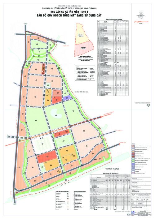 Đồ án quy hoạch Khu dân cư xã Tân Kiên Khu B