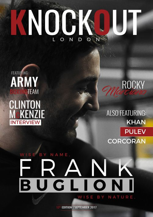 KnockOut London Magazine 12 - Frank Buglioni: Wise By Name