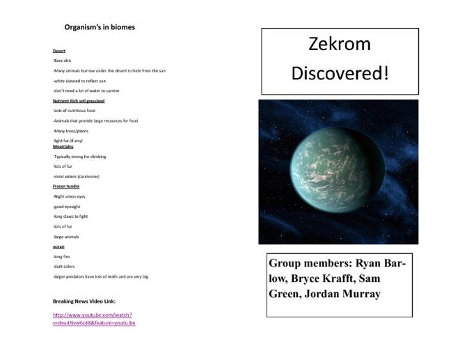 Zekrom Magazine