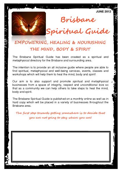 Sample Brisbane Spiritual Guide