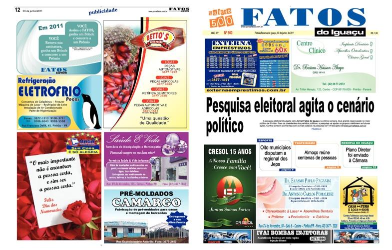 Fatos do Iguaçu Edição 500
