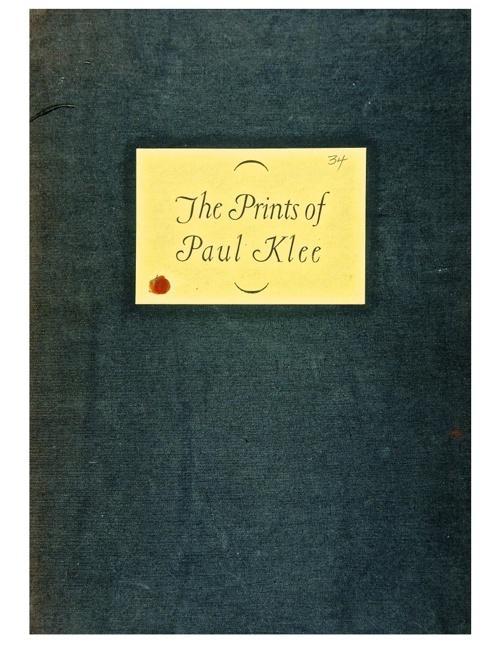 The Prints of Paul Klee