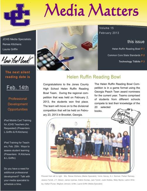 February 2013 Media Newsletter