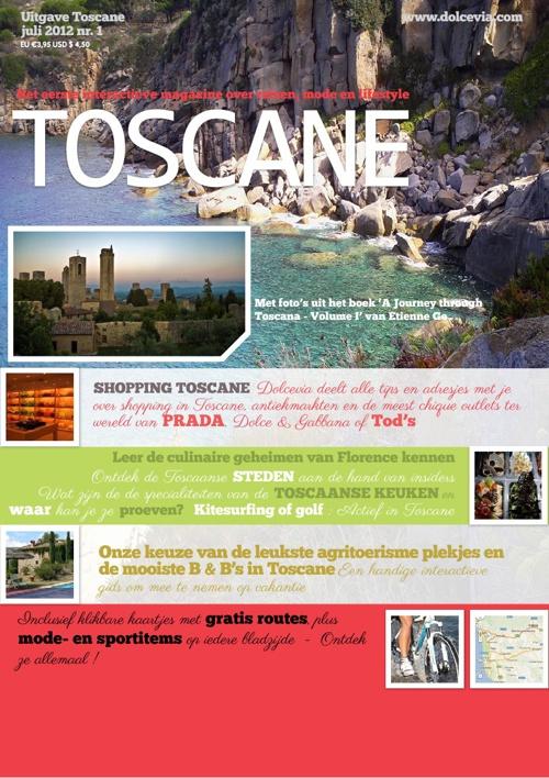 Toscane Reisgids & iMagazine by Dolcevia.com Uitgave 2012 - WEB