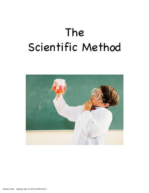 Science Textbook: Scientific Method