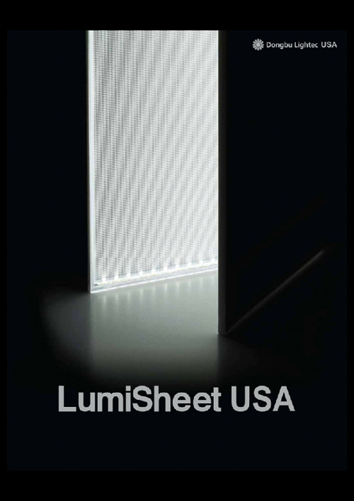LumiSheet USA 2012 Catalog